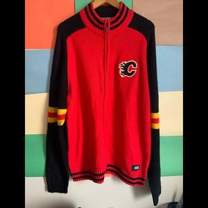 NHL Calgary Flames Embroided Design Full z…